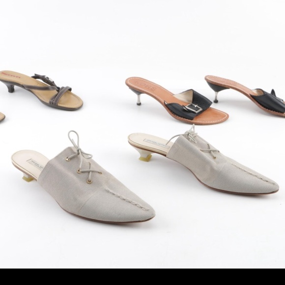Philippe Model Shoes - 💯 Authentic Philippe Model grey mules